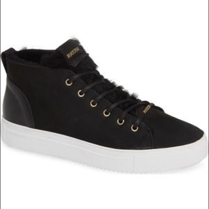 BLACKSTONE QL48 Shearling Lined High Top Sneakers